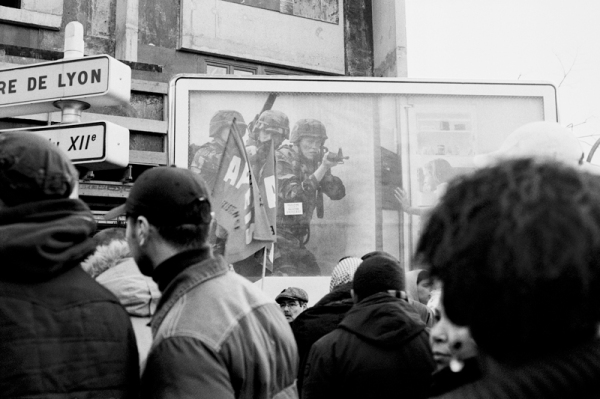 manifestation pro palestine, paris janvier 2009