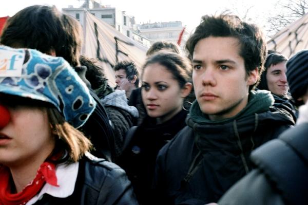 29 janvier 2009, paris, manifestation etudiante